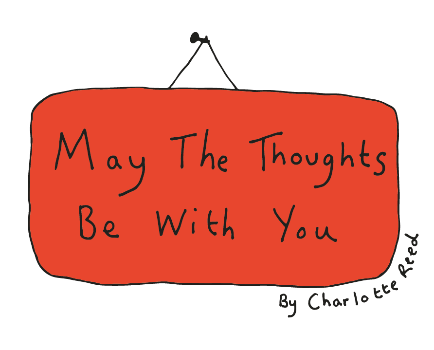 May The Thoughts Be With You Logo